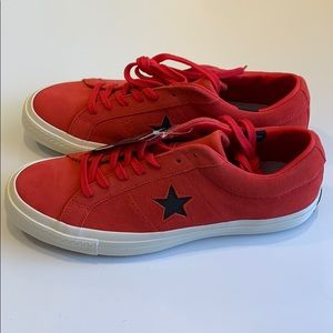 Converse Shoes - Converse One Star Ox Siren Red M 10 W 12